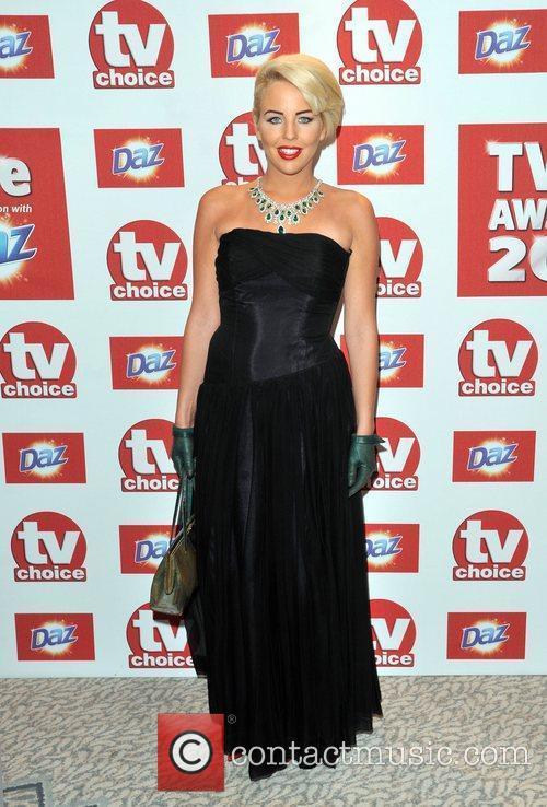 Lydia Bright The 2012 TVChoice Awards held at...