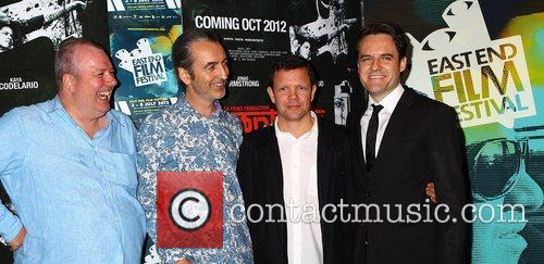 Co-directors Neil Thompson and David Kew with writer...