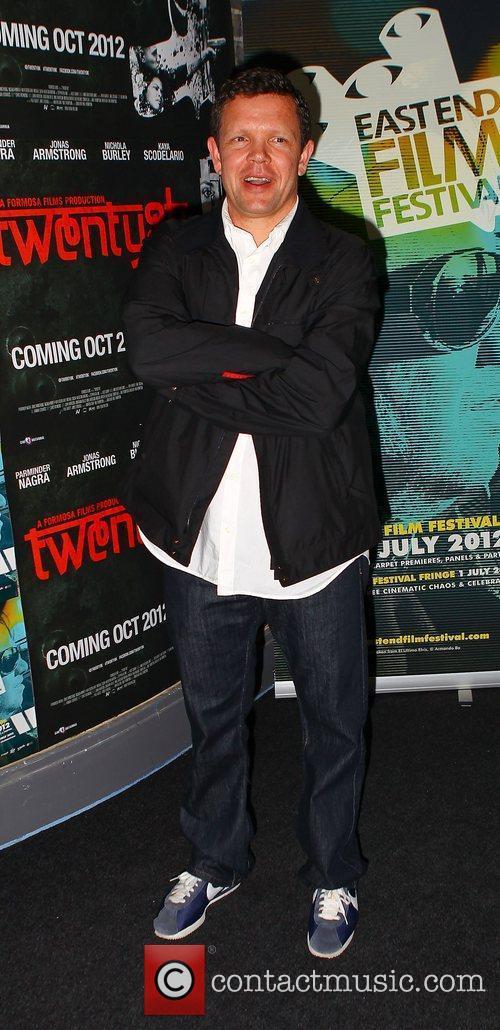 Writer, Jimmy Dowall,  Twenty8k premiere at the...