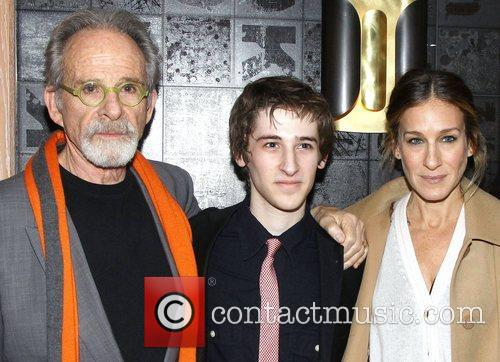 Ron Rifkin, Noah Robbins, Sarah Jessica Parker, The Twenty-Seventh Man, The Public Theater. New and York City 1