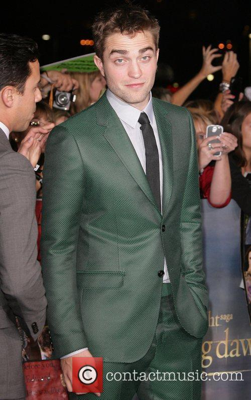 Robert Pattinson Breaking Dawn - Part 2 Premiere
