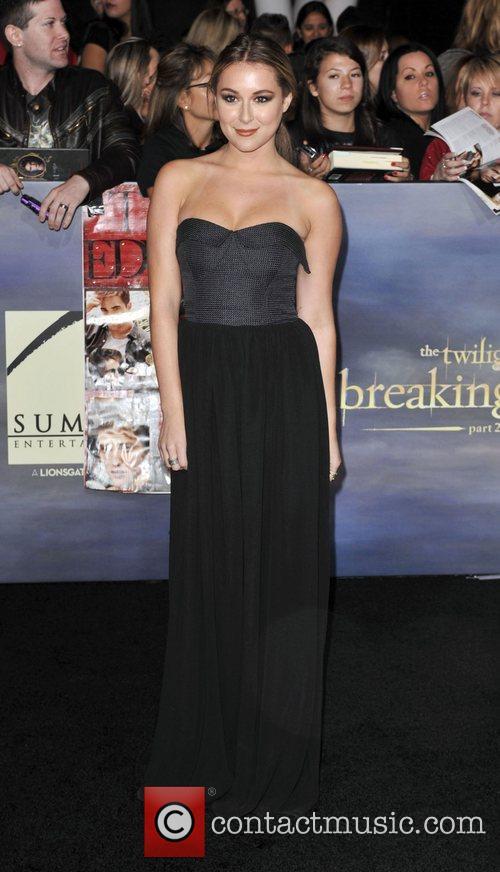 Alexa Vega  The premiere of 'The Twilight...