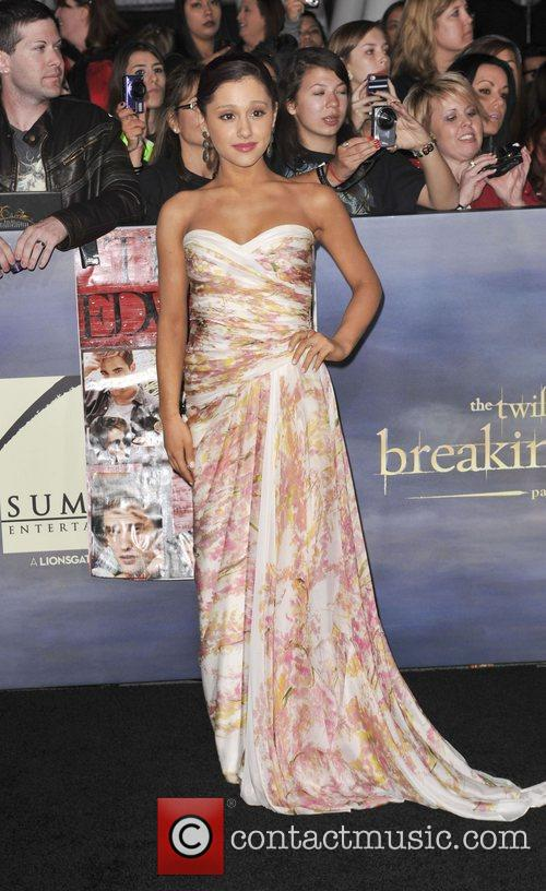 Ariana Grande  The premiere of 'The Twilight...