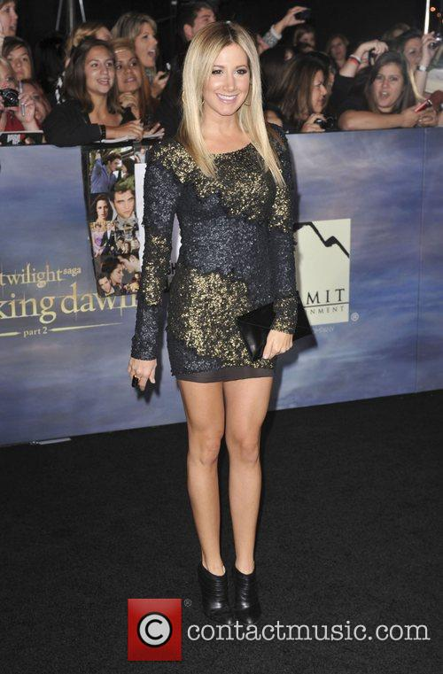 Ashley Tisdale  The premiere of 'The Twilight...