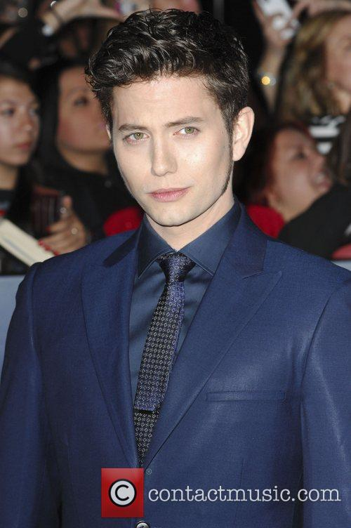 Jackson Rathbone  The premiere of 'The Twilight...