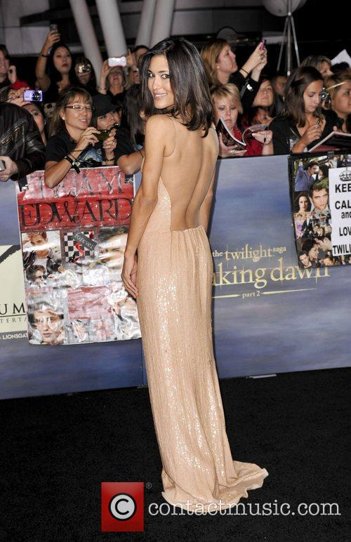 The premiere of 'The Twilight Saga: Breaking Dawn...