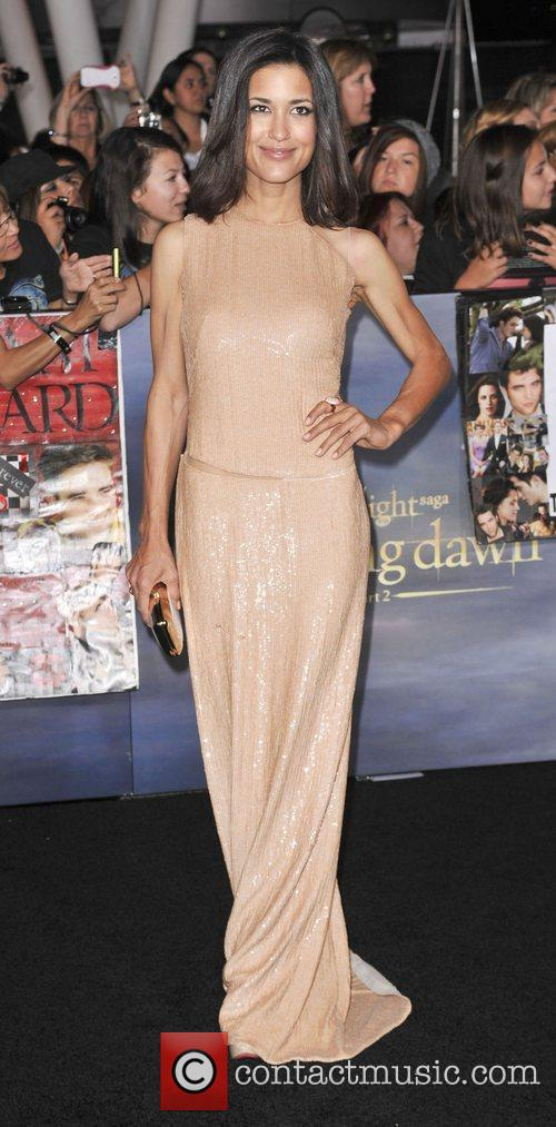 Julia Jones  The premiere of 'The Twilight...