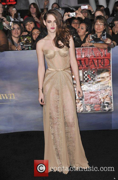 Kristen Stewart at LA premiere of the final Twilight movie