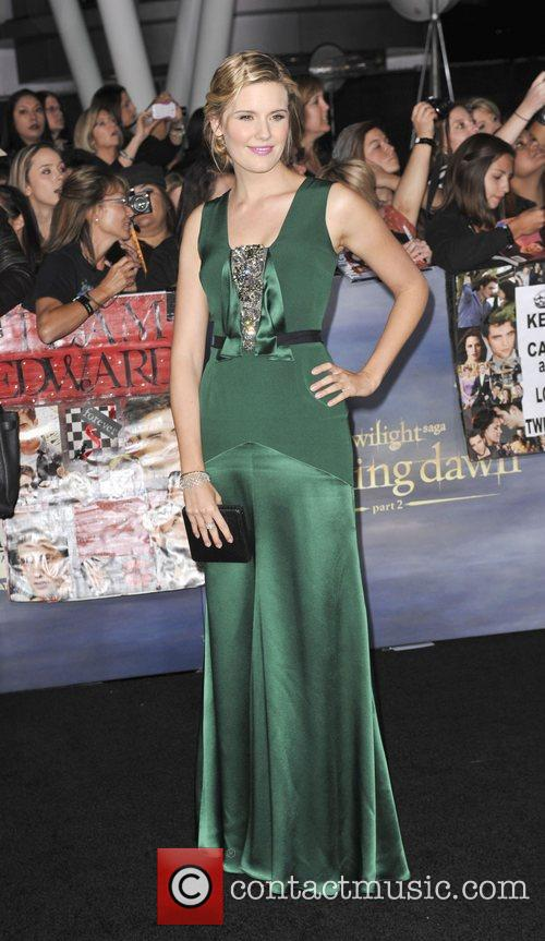 Maggie Grace  The premiere of 'The Twilight...