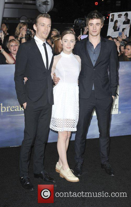 Max Irons, Saoirse Ronan and Jake Abel