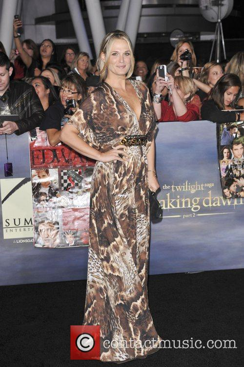 Molly Sims  The premiere of 'The Twilight...