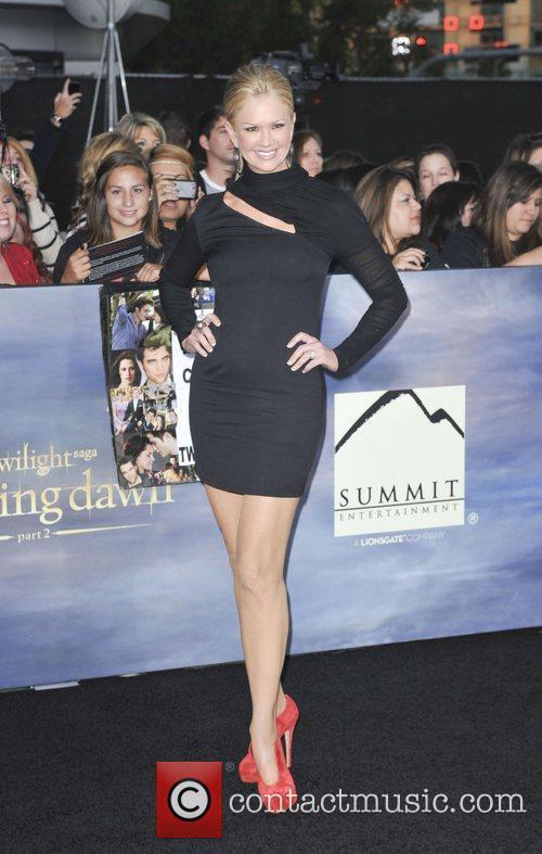 Nancy O'Dell  The premiere of 'The Twilight...