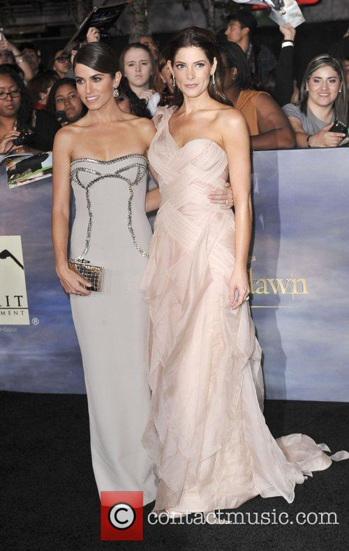 Nikki Reed, Ashley Greene  The premiere of...