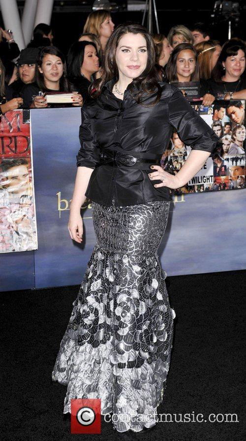 Stephenie Meyer  The premiere of 'The Twilight...