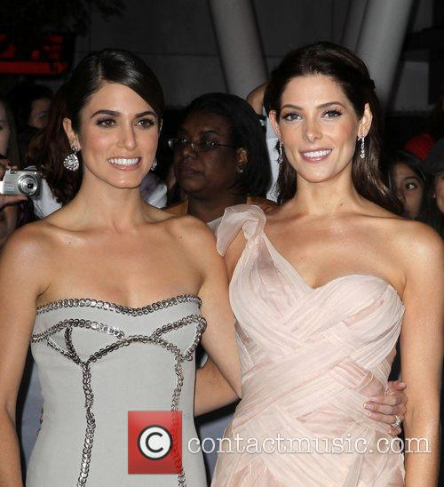 At the premiere of 'The Twilight Saga: Breaking...