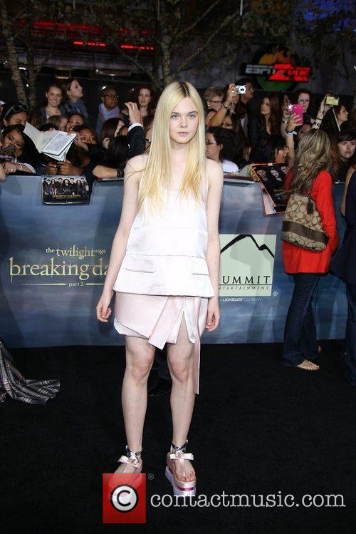 Actress Elle Fanning 2