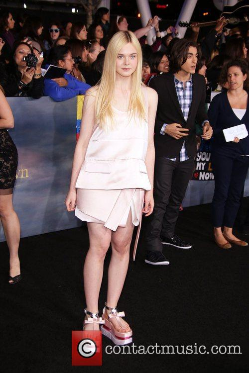 Actress Elle Fanning 1