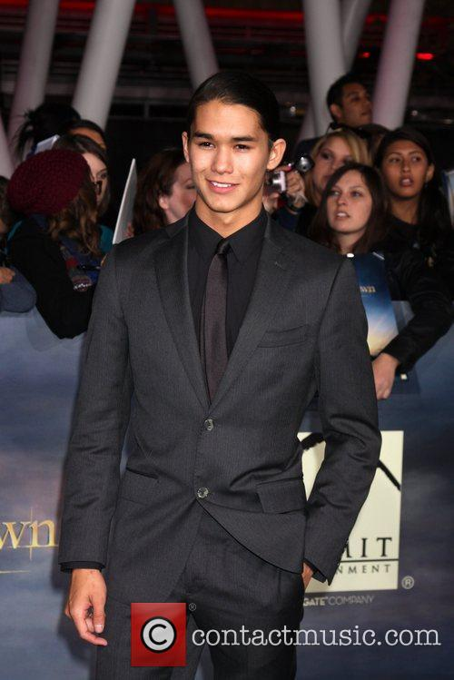 Booboo Stewart  The premiere of 'The Twilight...