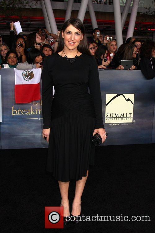 Mayim Bialik  The premiere of 'The Twilight...