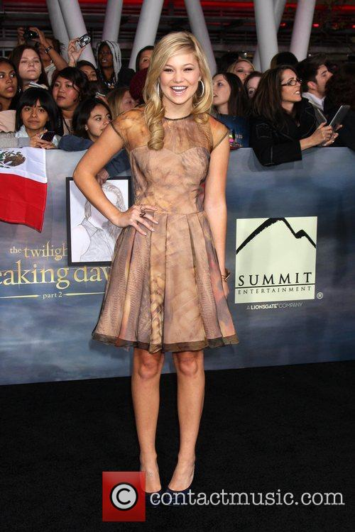 Olivia Holt  The premiere of 'The Twilight...
