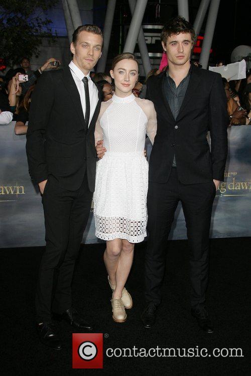 Max Irons, Saoirse Ronan and Jake Abel 2