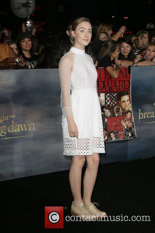 Saoirse Ronan The premiere of 'The Twilight Saga:...