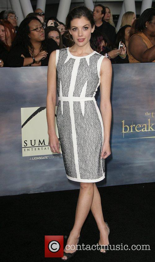 Sarah Habel The premiere of 'The Twilight Saga:...