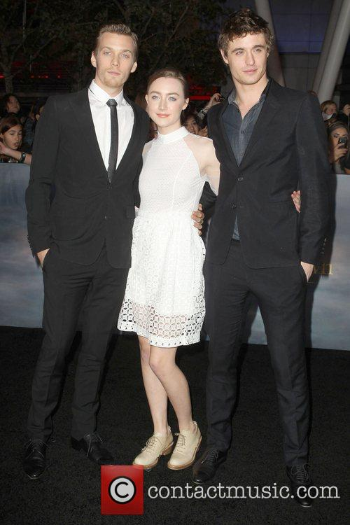 Max Irons, Saoirse Ronan, Jake Abel and Nokia Theatre L.A. Live 1