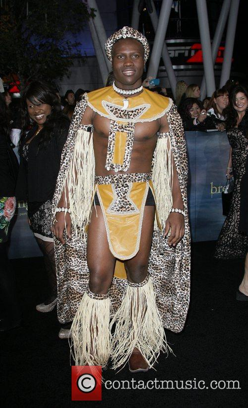 Amadouly The premiere of 'The Twilight Saga: Breaking...