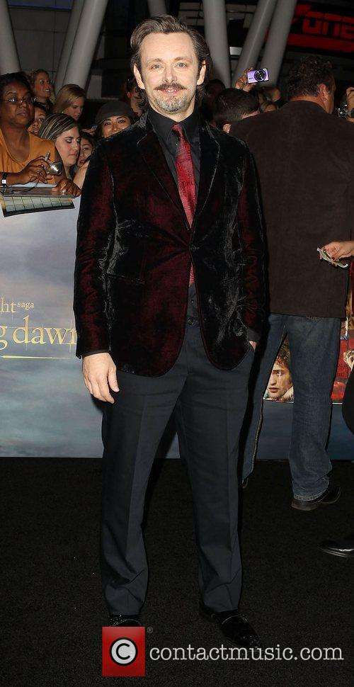 Michael Sheen Breaking Dawn 2 Premiere