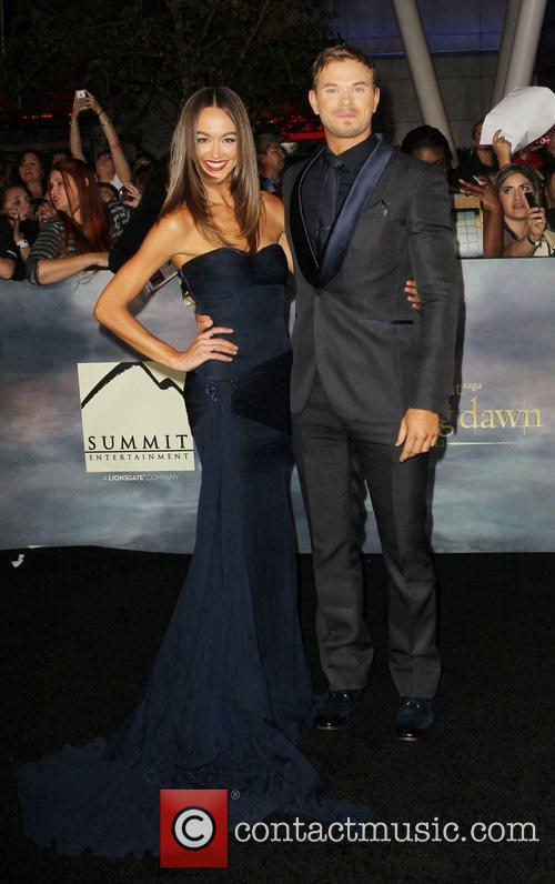 Sharni Vinson and Kellan Lutz 3