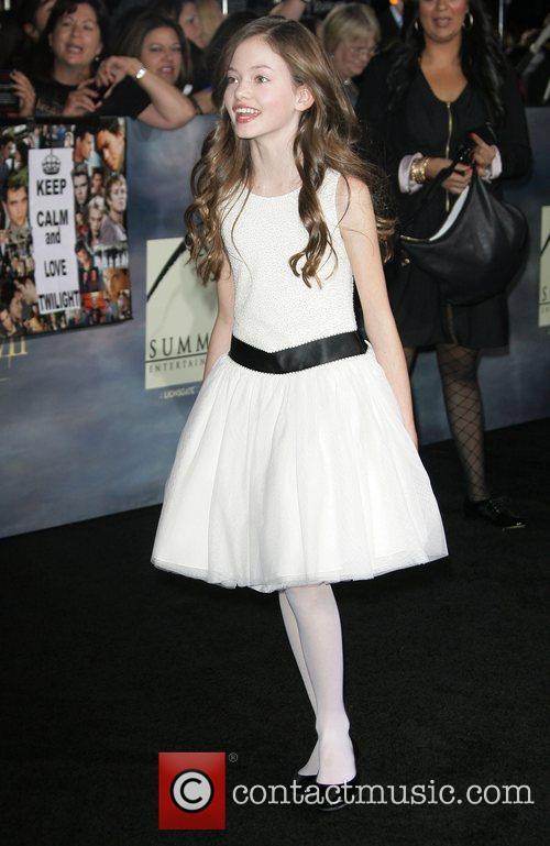 Mackenzie Foy The premiere of 'The Twilight Saga:...