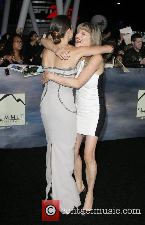Nikki Reed and Catherine Hardwicke The premiere of...