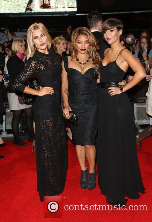 Mollie King, Vanessa White and Frankie Sandford from...
