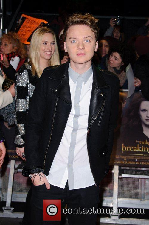 Conor Maynard, Twilight Breaking Dawn Part 2 Premiere