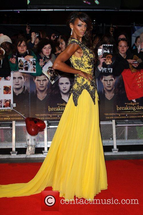 Judi Shekoni The premiere of 'The Twilight Saga:...