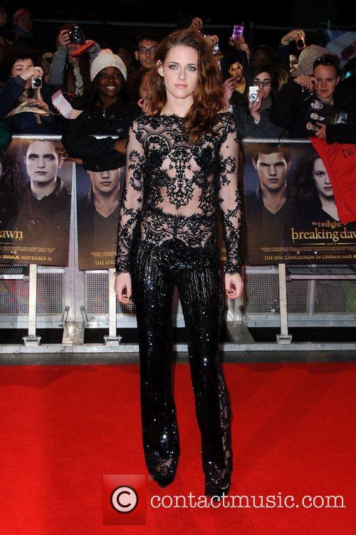 Kristen Stewart The premiere of 'The Twilight Saga:...