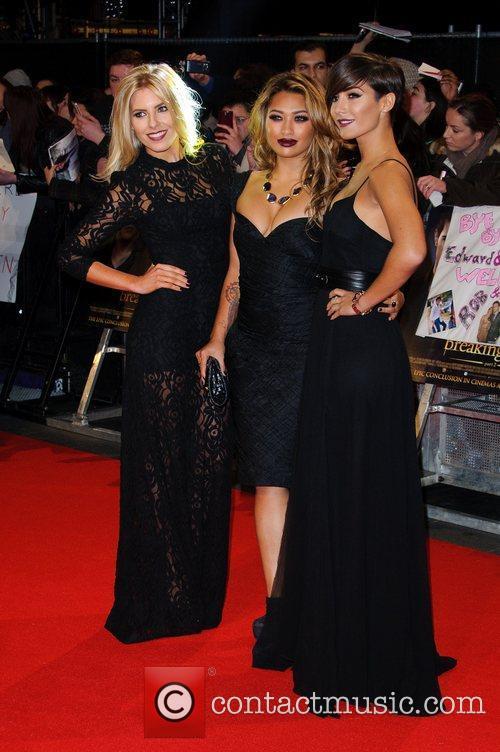 Mollie King, Vanessa White and Frankie Sandford The...