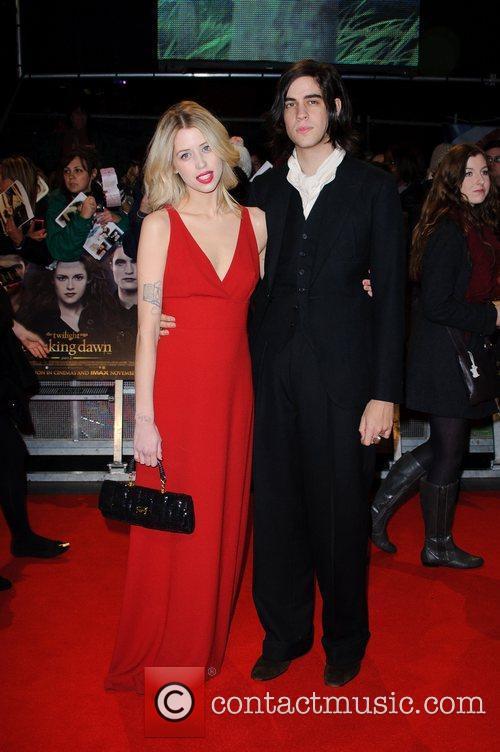 Peaches Geldof The premiere of 'The Twilight Saga:...