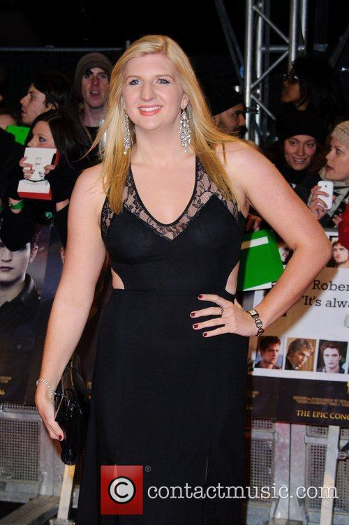 Rebecca Adlington The premiere of 'The Twilight Saga:...