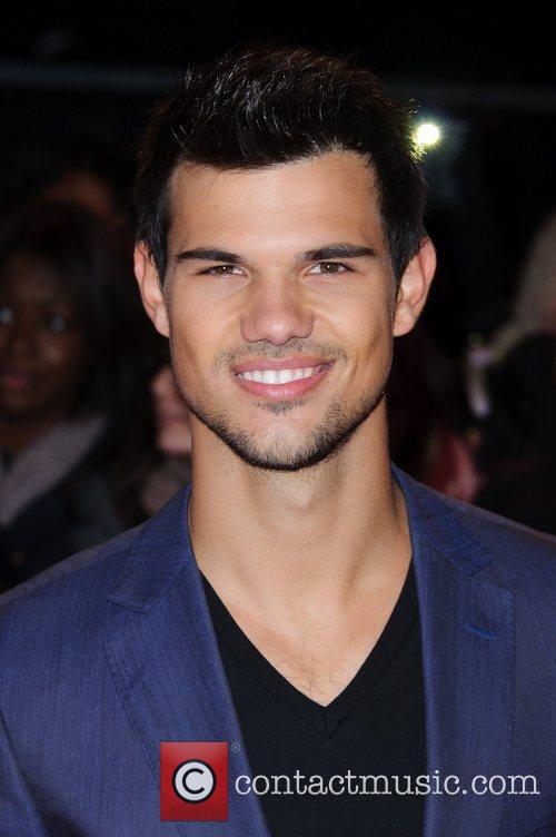 Taylor Lautner The premiere of 'The Twilight Saga:...