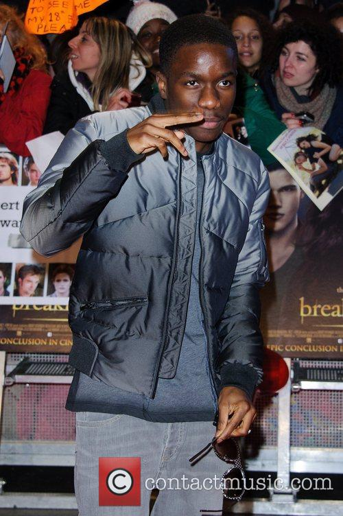 Tinchy Stryder The premiere of 'The Twilight Saga:...