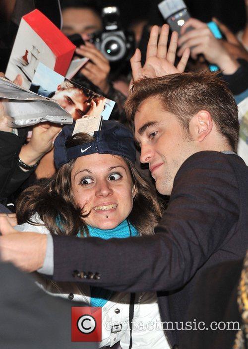 Robert Pattinson London Breaking Dawn Part 2 Premiere
