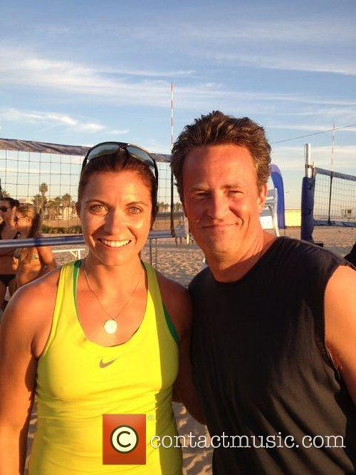 Matthew Perry posted this image on Lockerz with...