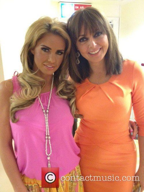 carol vorderman posted this image with katie 3954641