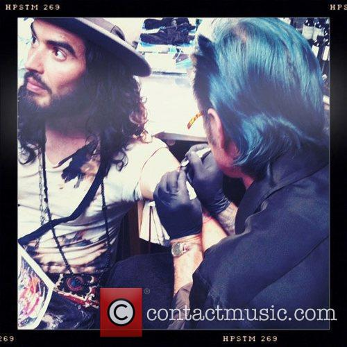 Russell Brand, Mtv and Tattoo 1