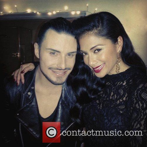 Nicole Scherzinger posted this image on Twitter with...
