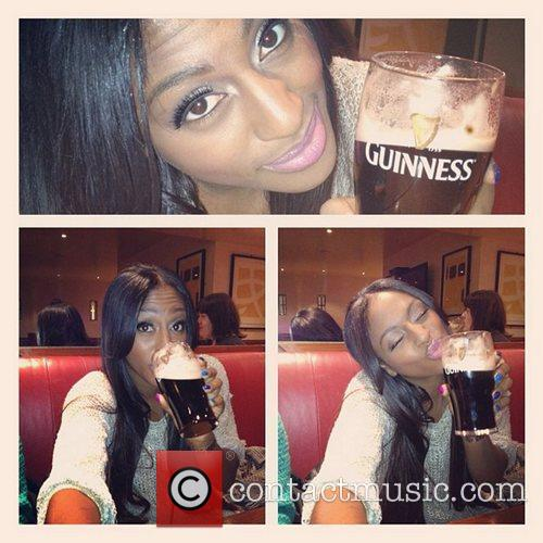 Alexandra Burke tweets this pic with the following...