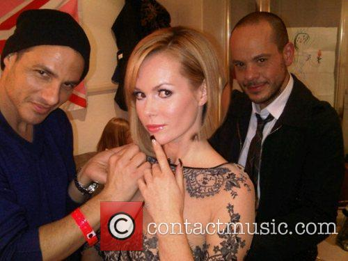 Amanda Holden tweets this pic with the following...
