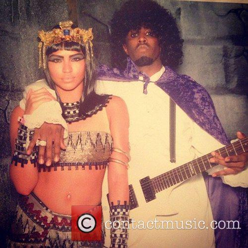 Cassie, Casandra Ventura, P. Diddy, Sean Combs, Instagram, Cleopatra, Prince and Happy Halloween